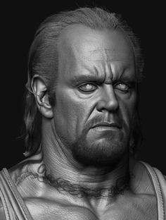 Sketchbook - Hossein Diba (breakdown Pg - Page 34 Kane Wwe, Infographic Video, Undertaker Wwe, Face Study, Digital Sculpting, Wrestling Divas, 3d Face, John Cena, Hair And Beard Styles