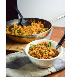 Quinoa aux légumes façon tandoori