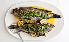 Striped Bass + Black Sea Bass Recipes on Pinterest | Sea Bass, Fish ...