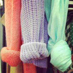 Pastel knits! xx