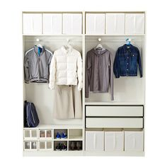 pax armoire penderie blanc blanc bedroom ideas. Black Bedroom Furniture Sets. Home Design Ideas