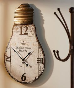 Light Bulb Wall Clock