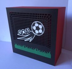 Football Light Box / Gift Box..... SVG Digital Download.....Commercial Use Allowed by CraftaholicCreation on Etsy
