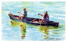 Graham Berry Watercolor painter - Artist was born in Farnham, Surrey, England