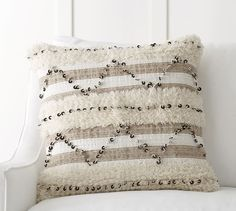 Rivka Moroccan Pillow Cover | Pottery Barn