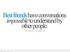 Best friends __ HAILEY AND ALLIE __ mind reading ;)