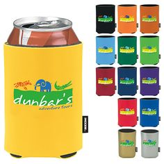 PMSSC Promotional Products - rubber-like feel to the outside of the can cooler to keep hands dry!