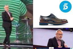 Cada vez más presentadores con #zapatos de Angel Infantes: Anoche pudimos ver a #JordiGonzalez en el debate de Gran Hermano #GH17