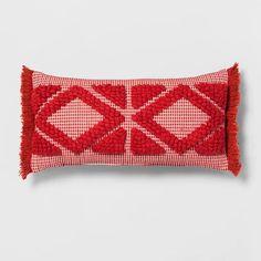 Orange Diamond Skinny Lumbar Throw Pillow - Opalhouse™ : Target