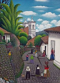 Jose Antonio Velasquez 'Mountain Scene' Honduras
