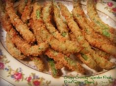 Crispy Crunchy Garden Fresh Fried Green Beans Recipe
