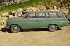 This 1966 Mercedes Benz 230S Universal is a rare right-hand-drive wagon that is said to have been stored for the last six years. The seller has had the car for 15 years and it once had a diesel engine. Find ithere on eBay.UKin Wicklow, Ireland for 7000 GBP.