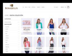 En nuestra página puedes encontrar las nuevas colecciones en la pestaña catálogo, para que no te quedes sin armar tus looks con Bonabella.