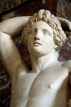 ♔ Apollo ~ 2nd century AD ~ Louvre ~ Paris