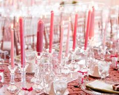 5 Pink Table Settings - Wedding Obsessions | The Knot