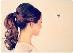 simple ponytail hairstyles tutorial 04