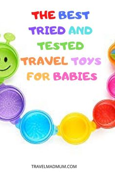 If you are headed on a a family vacation, finding the best baby travel toys is essential! Finding a balance between compact and entertaining can be difficult when choosing baby travel toys. We've broken it down for you with some of our favorite travel toys for babies that we've tried and tested. These toys will keep your baby happy whether you are flying with a baby or taking a road trip! #travelmadmum #baby #flyingwithababy #traveltoys #babytoys Travel Toys, Baby Travel, Family Travel, Traveling With Baby, Travel With Kids, Lamaze Toys, Airplane Toys, Airplanes, Best Baby Toys