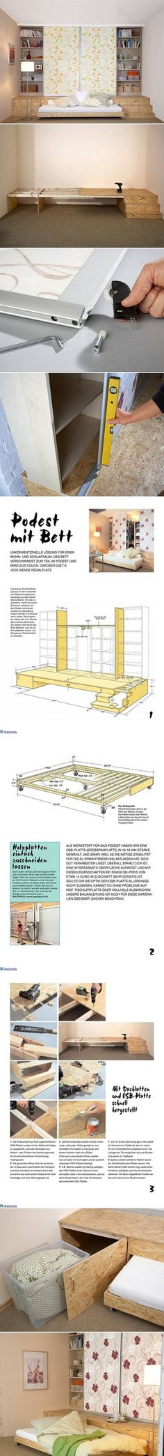 DIY Three in One Furniture DIY Projects / UsefulDIY.com