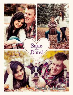 Save the Date photo magnets by CreativEyes on Etsy, $1.45