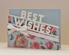 Best Wishes Edge Card