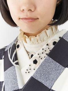 Modern Kimono, Mix Style, Kimono Dress, Japanese Outfits, Folk Costume, Yukata, Japanese Kimono, Western Outfits, Kimono Fashion