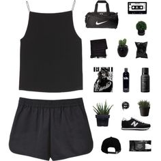 nothing I want today by mihsty on Polyvore featuring T By Alexander Wang, New Balance, NIKE, Anya Hindmarch, Urbanears, Brixton, Kat Von D, Living Proof, Alöe and Lux-Art Silks