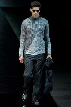Farb-und Stilberatung mit www.farben-reich.com - Emporio Armani | Fall 2014 Menswear Collection.