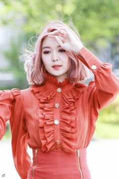 Dreamcatcher Dami Korean Make Up, Korean Girl, Kpop Girl Groups, Kpop Girls, Some Girls, Girl Bands, Our Girl, Pop Group, Pink Hair