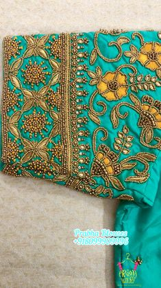 Cutwork Blouse Designs, Best Blouse Designs, Hand Work Blouse Design, Stylish Blouse Design, Traditional Blouse Designs, Bead Embroidery Tutorial, Maggam Work Designs, Hand Work Embroidery, Designer Blouse Patterns