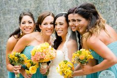 Bright bouquets and beautiful veil at a L'Auberge Del Mar San Diego wedding