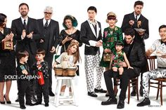 Dolce & Gabbana Children Winter Collection 2016: Advertising Campaign