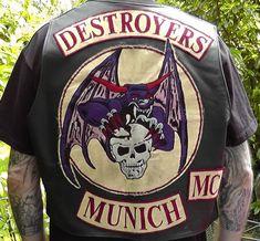 #ugurbilgin #UniTED #Riders #Brotherhood of #Turkey | #motorcycle | Destroyers Munich German MC