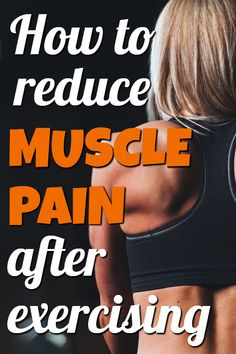 How to reduce muscle pain after exercising Reduce muscle soreness after workout Hard Workout, After Workout, Workout Tips, Workout Routines, Fitness Tips, Fitness Motivation, Health Fitness, Fitness Exercises, Body Workouts