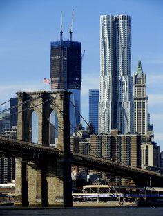 Brooklyn Bridge and One WTC