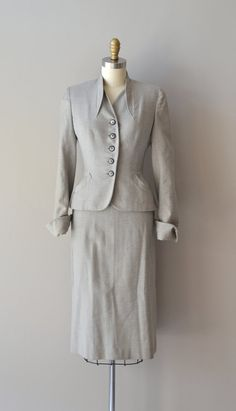New Century suit wool 1940s suit vintage 1950s by DearGolden