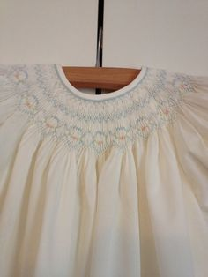 Baby Girl Smocked Bishop Dress 12 months by SeamsbyLeslie on Etsy, $103.00