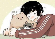 omfg so cute Japan Cat, Hetalia Japan, Hetalia Funny, Hetalia Fanart, Hetaoni, Hetalia Characters, Fandom, Hetalia Axis Powers, Mystic Messenger
