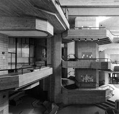 UMass Dartmouth, North Dartmouth, Massachusetts,  built between 1963-66, Paul Rudolph