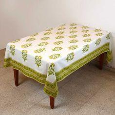 Verano mantel Rectangular 152 X 228 decoración mesa Floral algodón: Amazon.es: Hogar