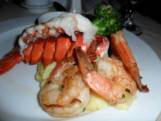 Carnival Triumph Review: I love lobster night on a cruise ship.