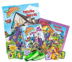Enter to win a Danger Rangers #poisonsafety prize pack! #contest #giveaway