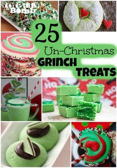 25 Un-Christmas Grinch Treats