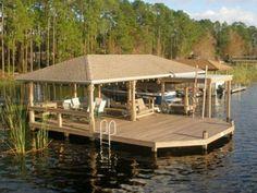 134 Best dock images in 2019   Boat dock, Floating house, Cottage
