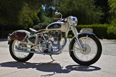 Royal Enfield is another bike I have a soft spot for, especially something like this clean Bullet 350.