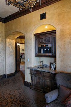 Coffee bar in Master Bath...