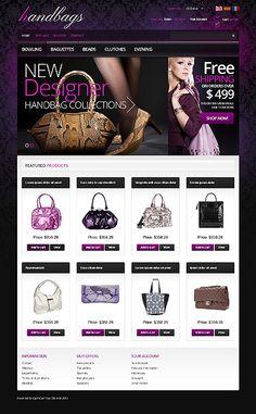 Handbag Boutique PrestaShop Themes by Hermes