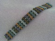 Woven Bracelets, Jewelry Bracelets, Bead Jewelry, Beaded Jewellery, Peyote Beading Patterns, Foot Bracelet, 40 And Fabulous, Beaded Jewelry Designs, Beading Projects