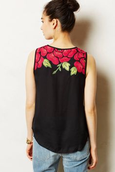Pinnacle Tank - anthropologie.com
