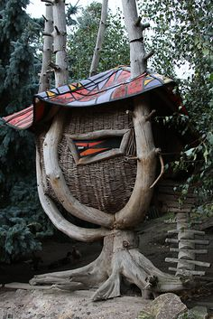 Basketry Tree House