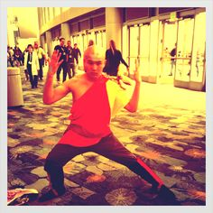 The Last Airbender cosplay at WonderCon